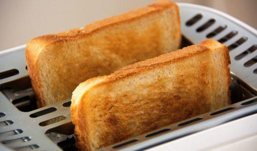 Tranches de pain grillé