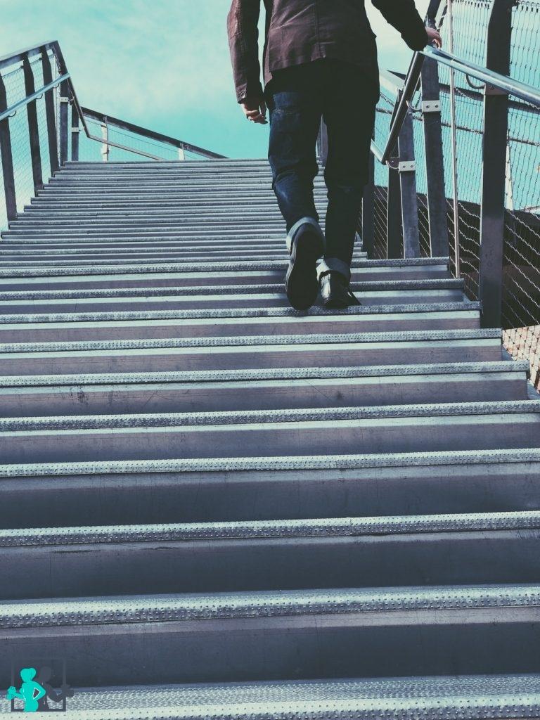 Prendre les escaliers