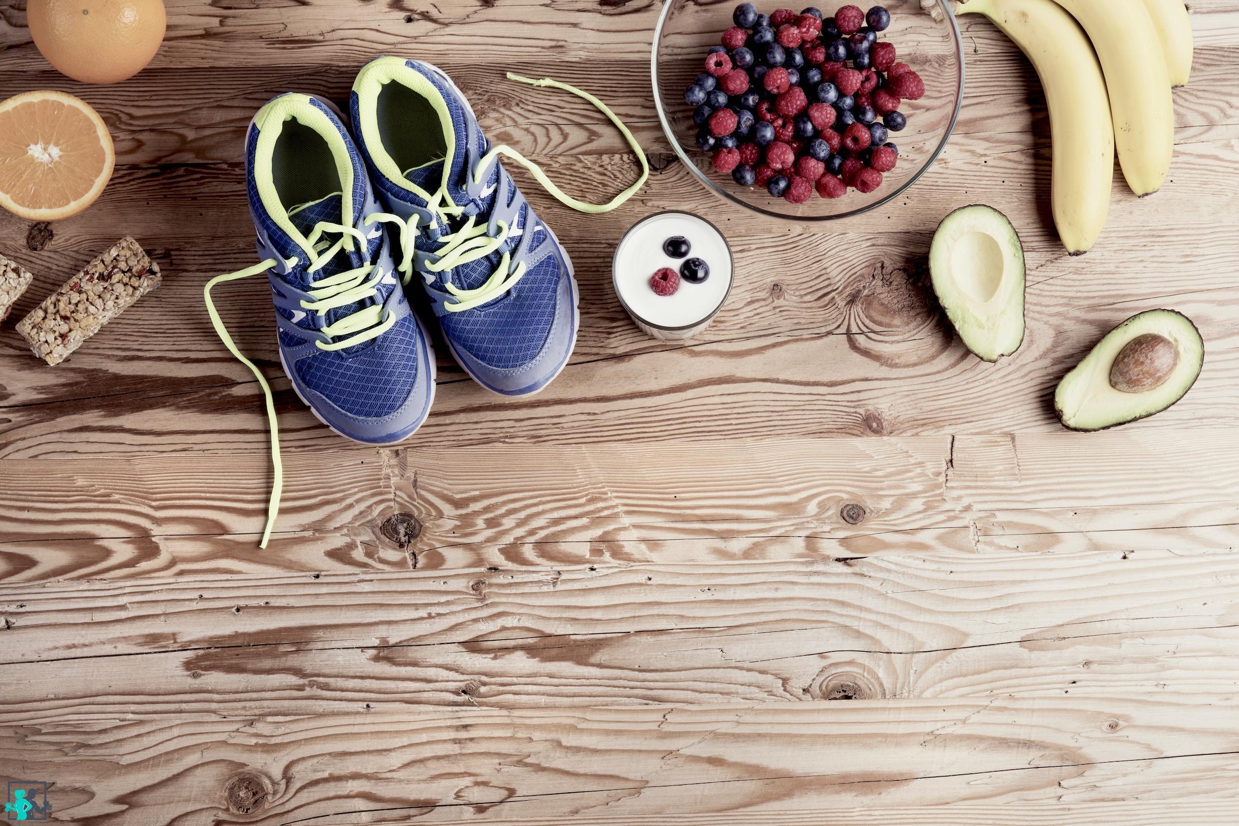 équilibre entre alimentation et sport
