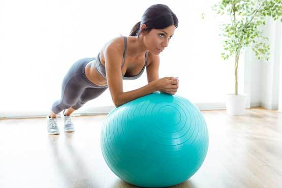 gainage-swiss-ball