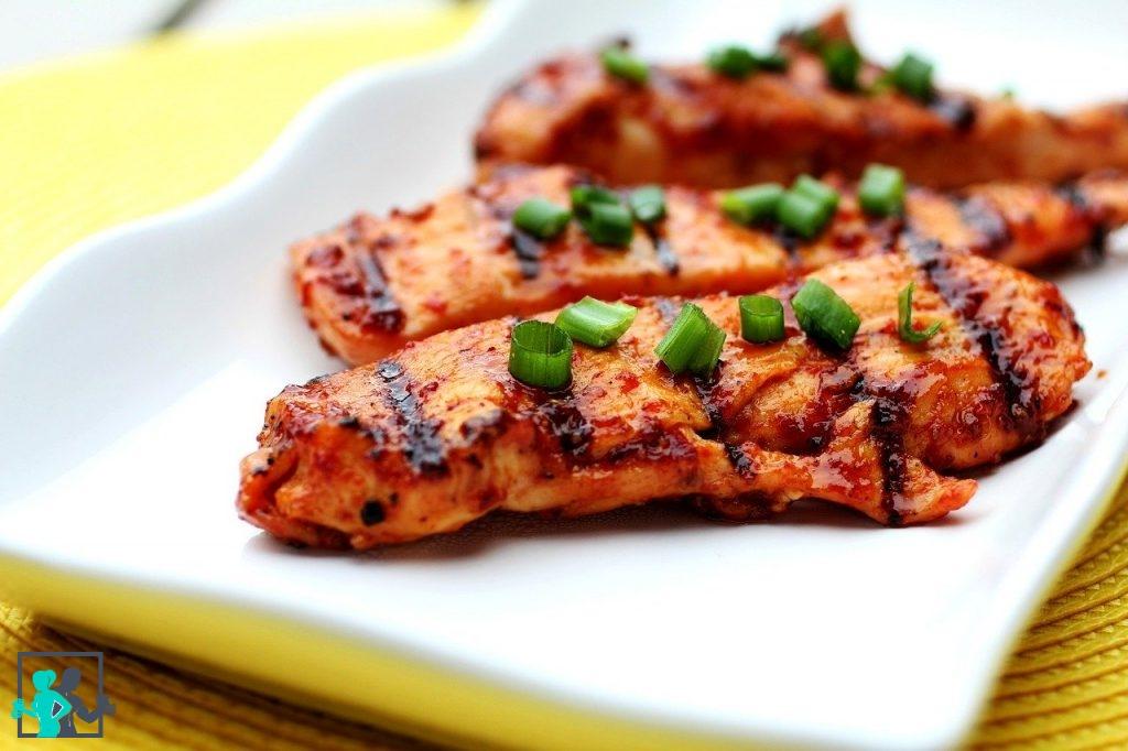poulet riche en proteines