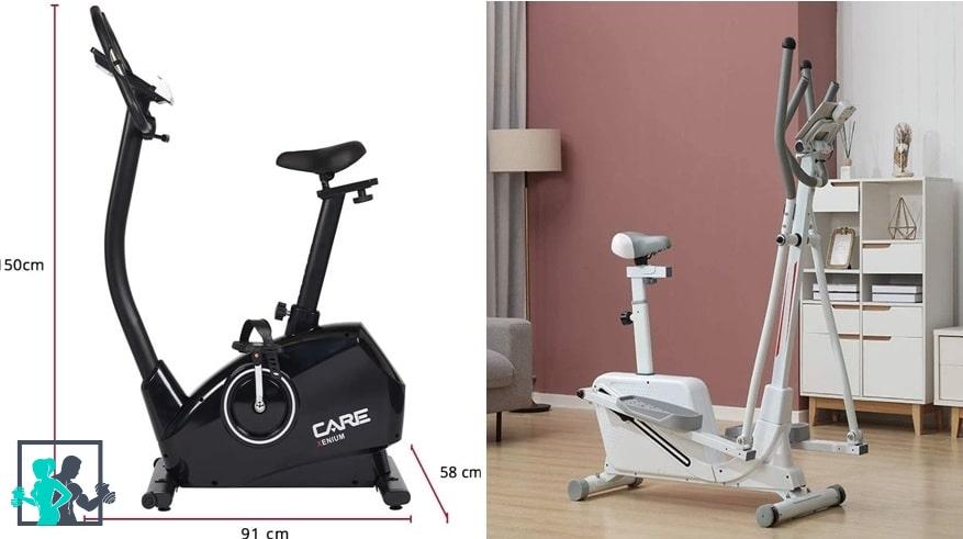 Différence entre un vélo elliptique et vélo d'appartement