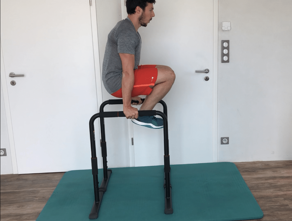 hanging leg raises niveau 2