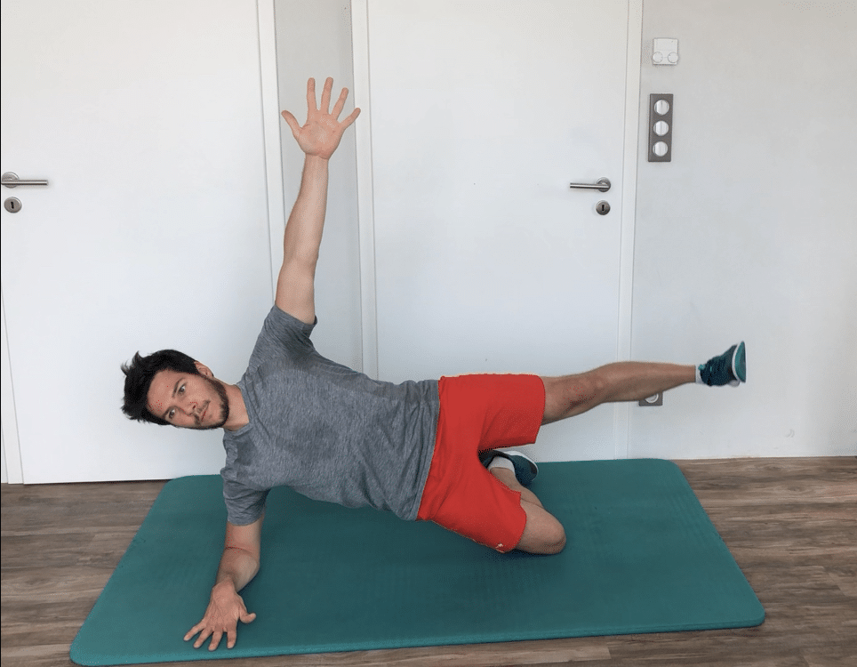 lateral plank niveau 2