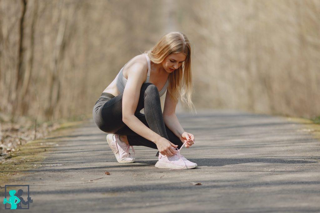 Sportive concentrée ou stressée ?