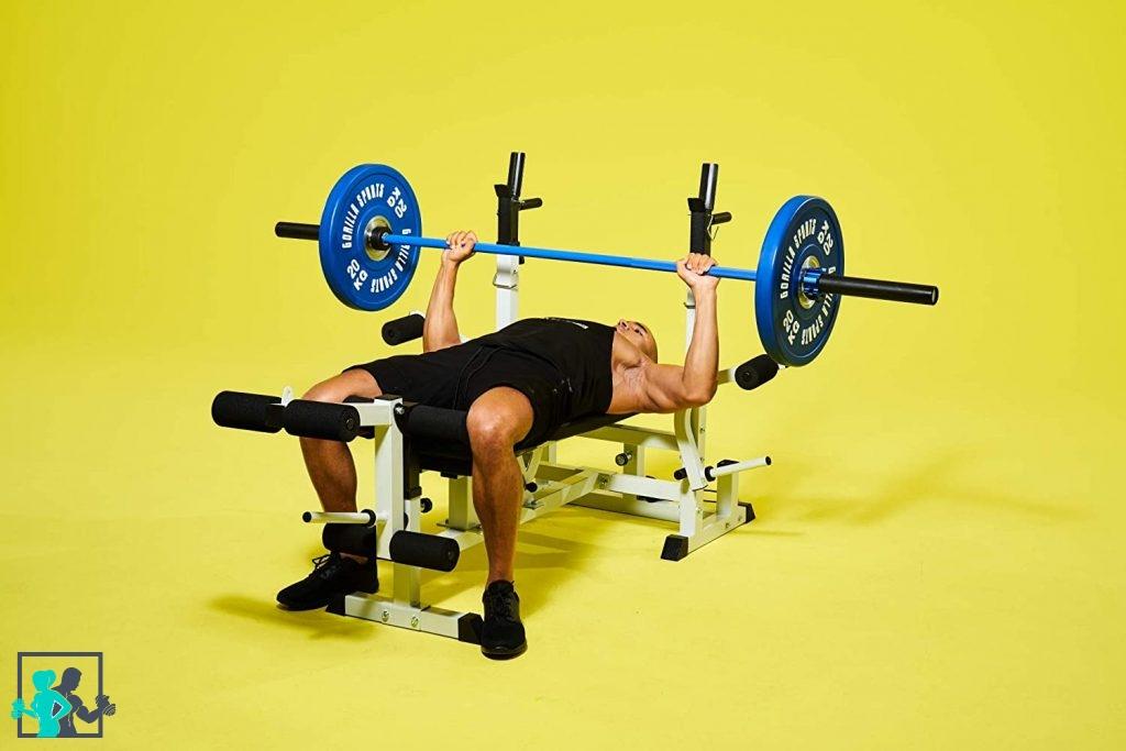 exercice avec bumper plates