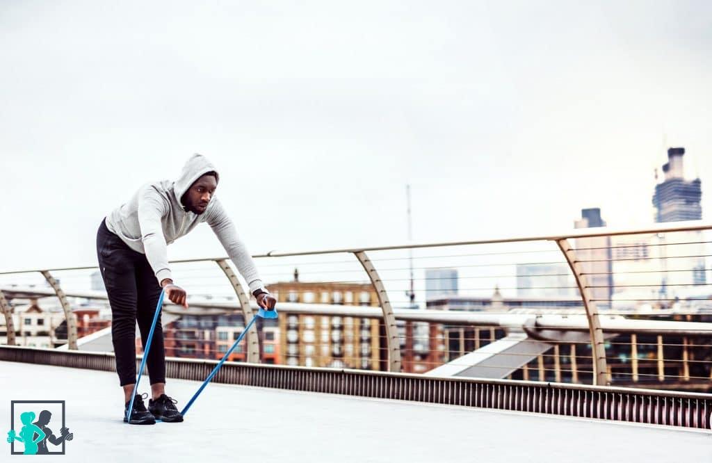 exercices training avec élastique
