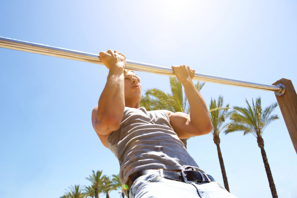 entrainement pull ups