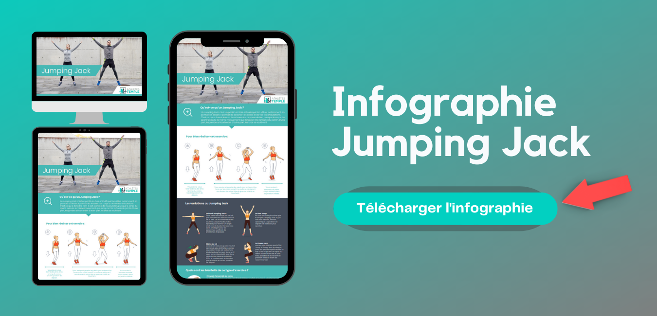 Infographie Jumping Jack